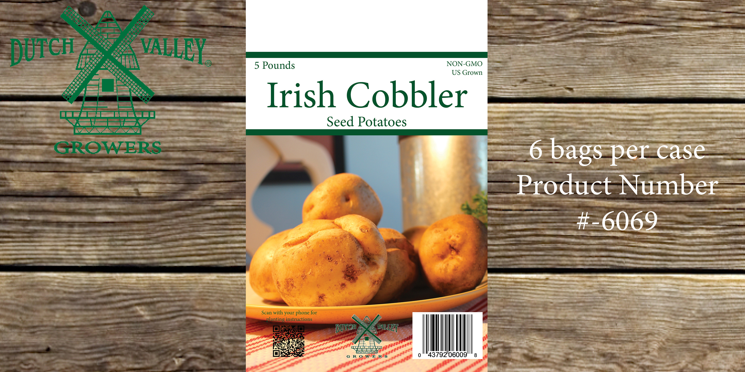 5# Irish Cobbler