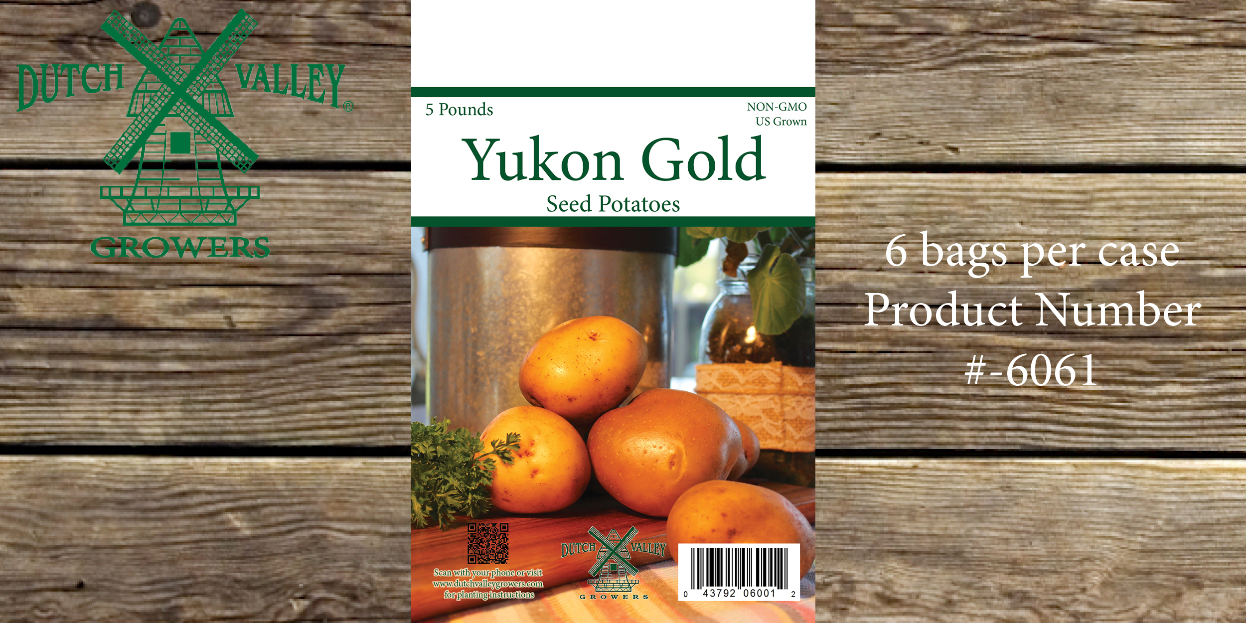 5# Yukon Gold