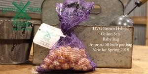 Brown Onion Sets Baby Bag