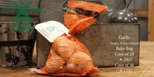 Garlic White Softneck Baby Bag