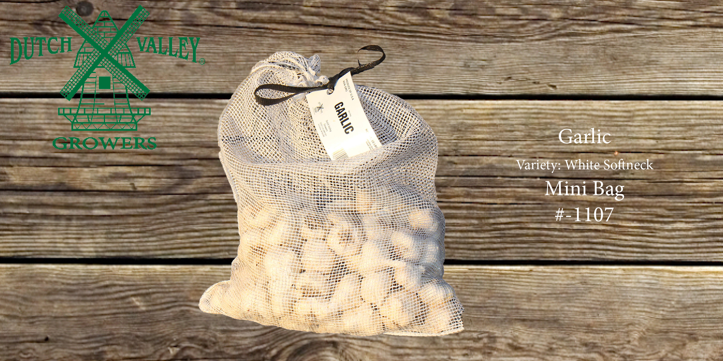 10# Garlic Mini Bag