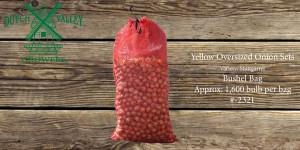 32# Yellow Oversized Sets Bushel Bag